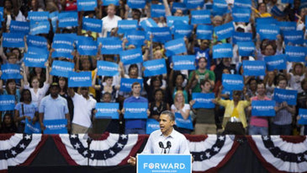 Obama en campaña electoral