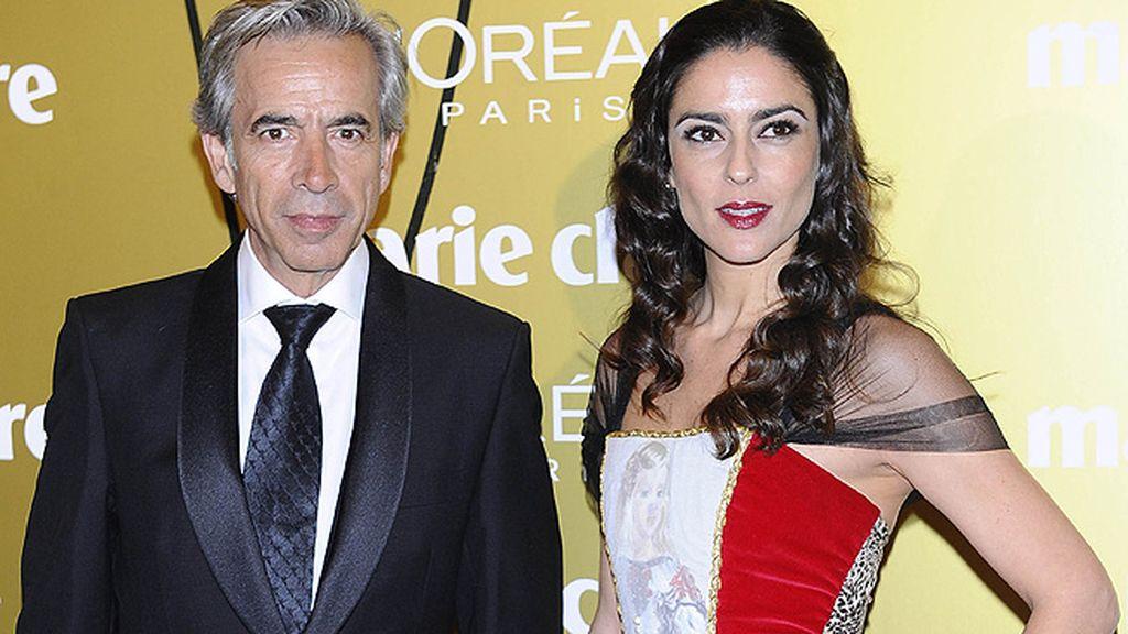 Imanol Arias e Irene Meritxel