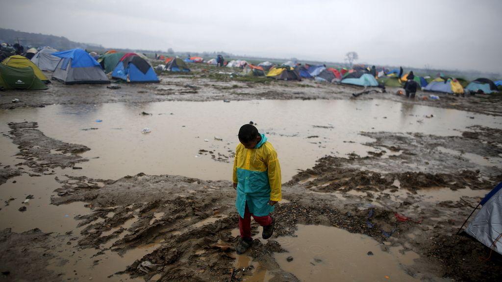 Campo de refugiados de Idomeni