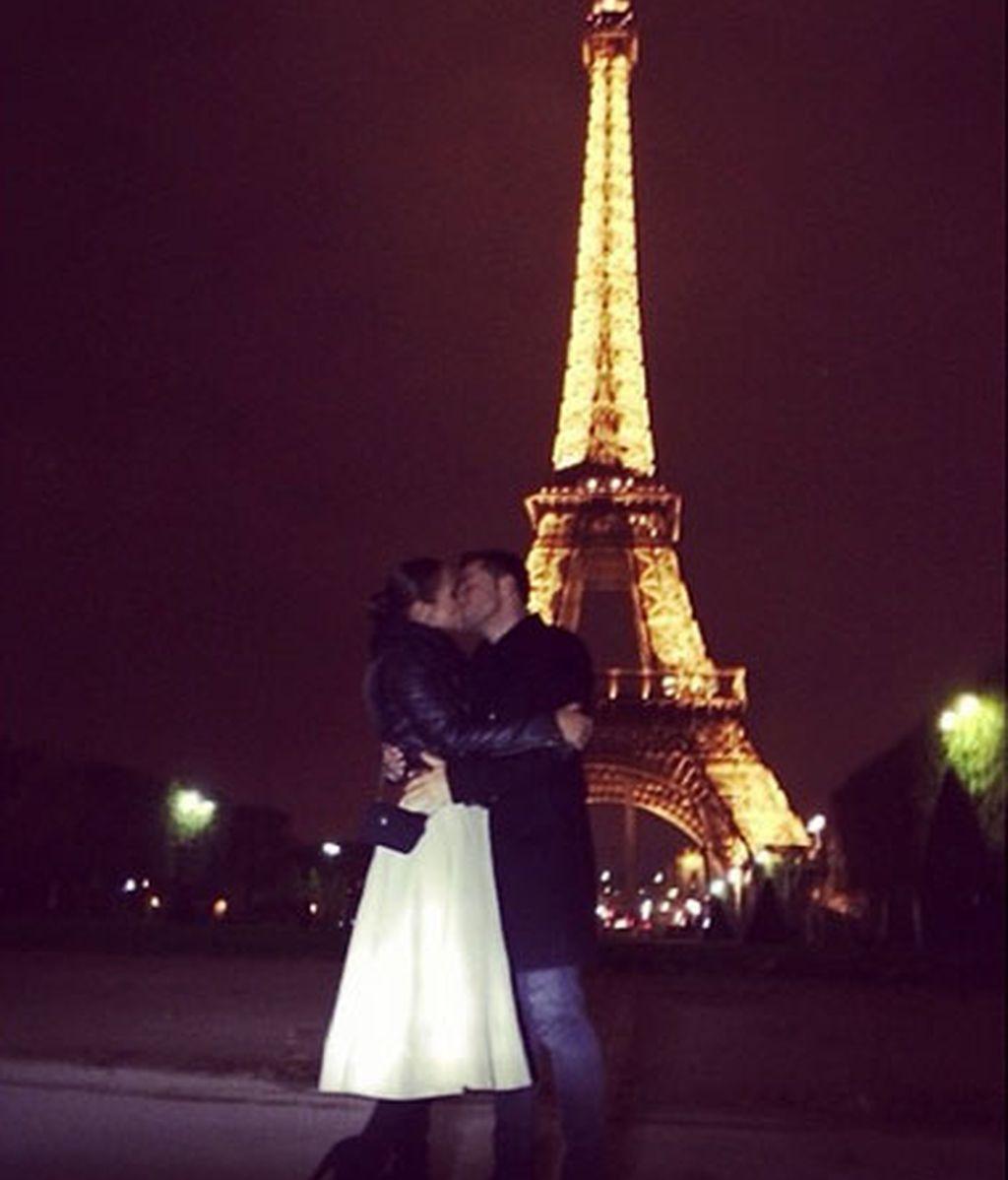 Paula y Busta de escapadita romántica a París