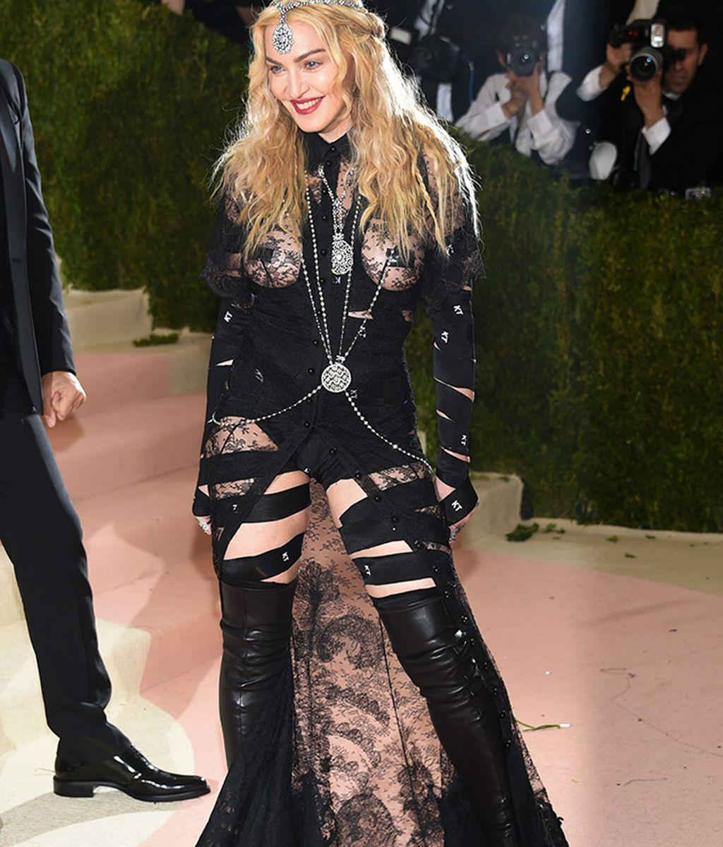 Madonna vestida de Givenchy
