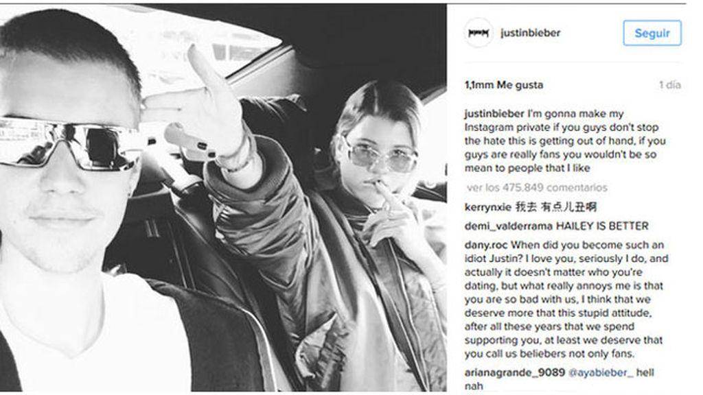 Justin instagram