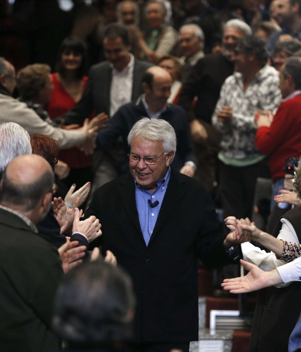 El PSOE conmemora el 30 aniversario del primer gobierno de González