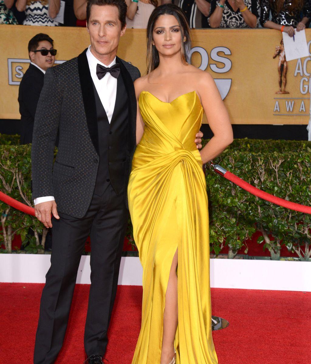 Matthew McConaughey y su guapisima mujer Camila