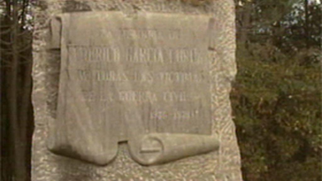 La tumba de Lorca