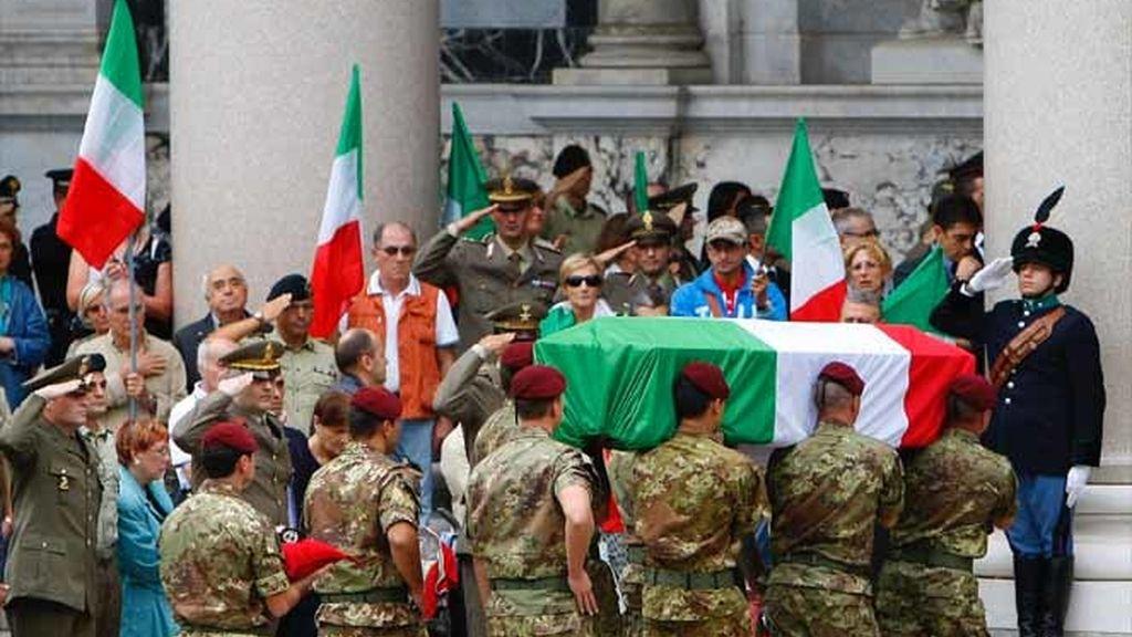 Funeral de Estado en Italia
