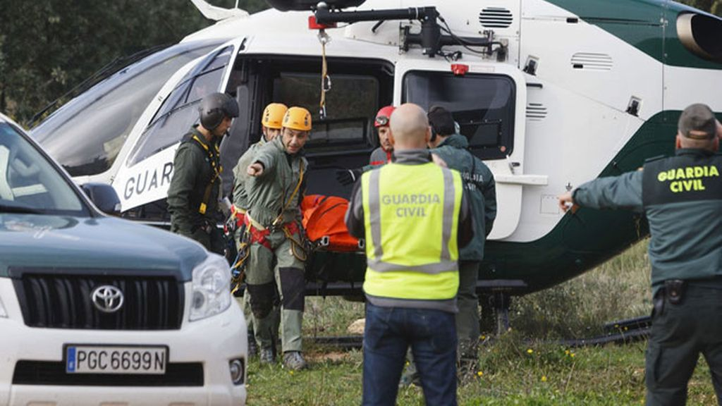 Rescatan el cuerpo de un montañero fallecido en el Barranco del Infierno