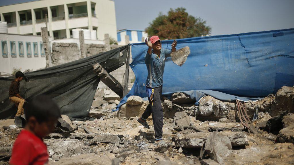 Israel bombardea la Franja tras el disparo de un cohete contra el sur del país