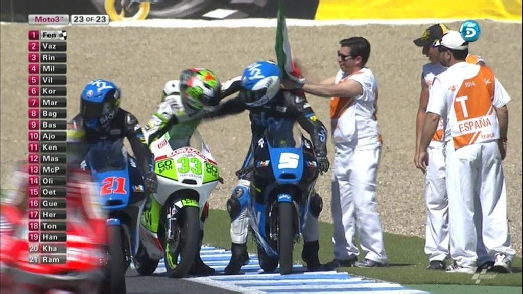Moto3, Fenati, Jerez