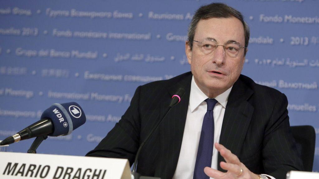 Draghi pide que las ayudas no acarreen pérdidas a poseedores de deuda