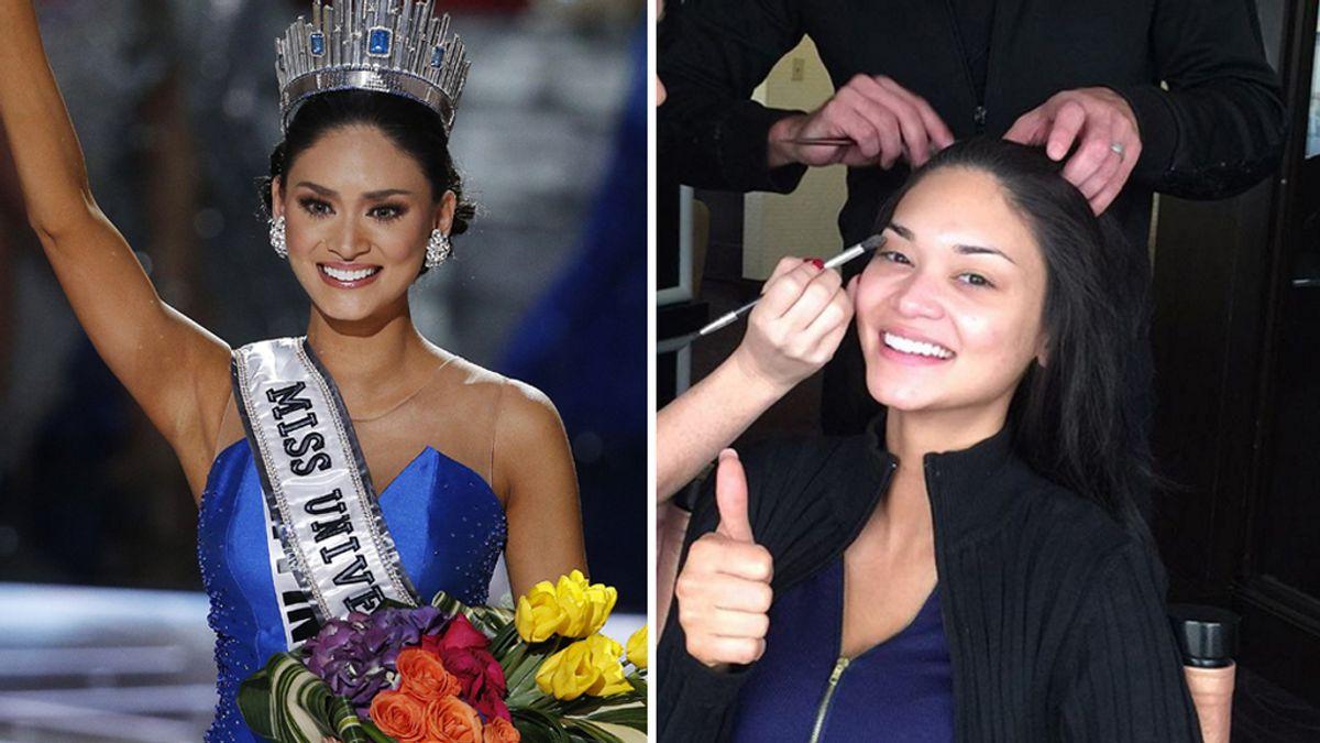 Así es Miss Universo sin maquillar