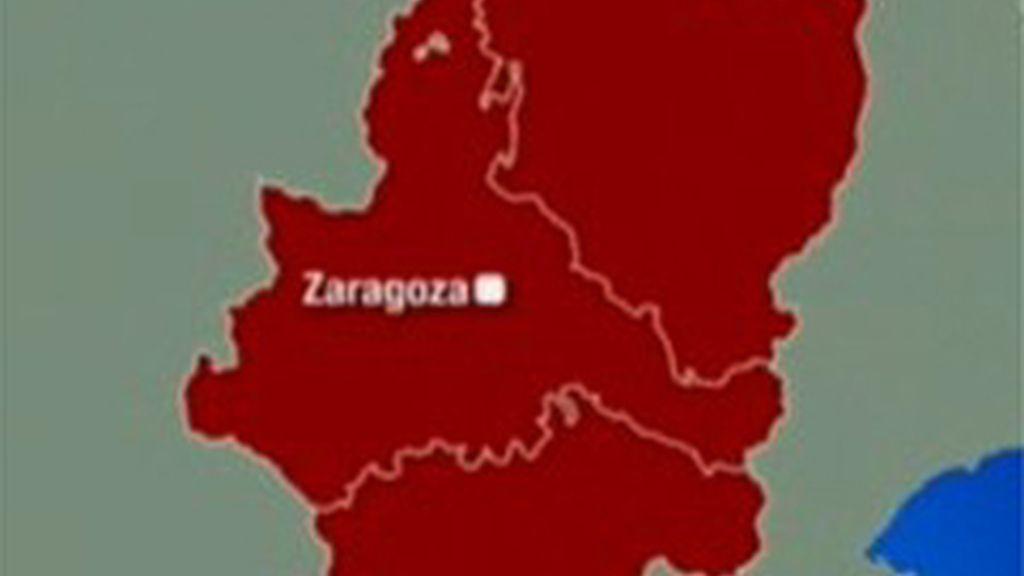 Mapa de Aragón