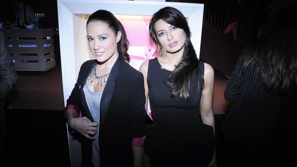 Las actrices Eva Marciel y Aurora Carbonell