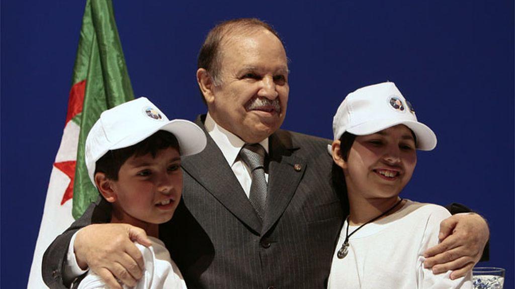 El presidente de Argelia, Abdelaziz Buteflika