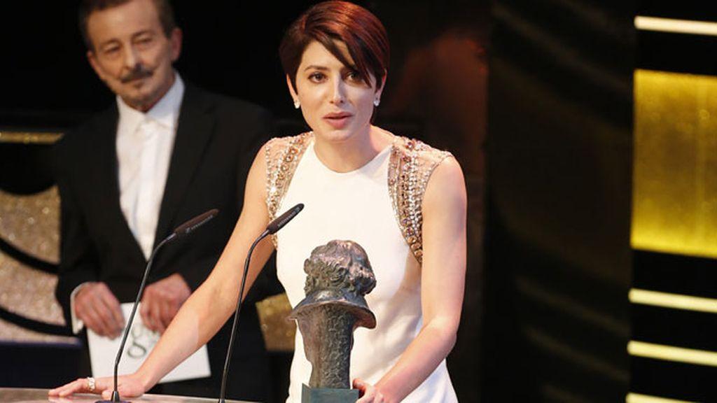 """Bárbara Lennie recibe el Goya a la Mejor Actriz Protagonista, por su trabajo en """"Magical Girl"""""""