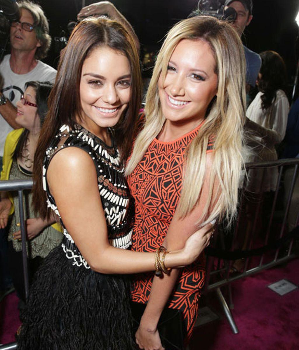 Vanessa Hudgens y Ashley Tisdale, grandes amigas
