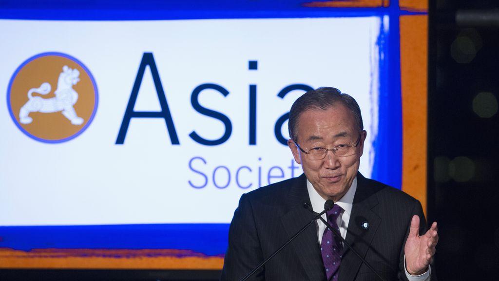 Ban Ki Moon pide ayuda en la lucha contra el ébola