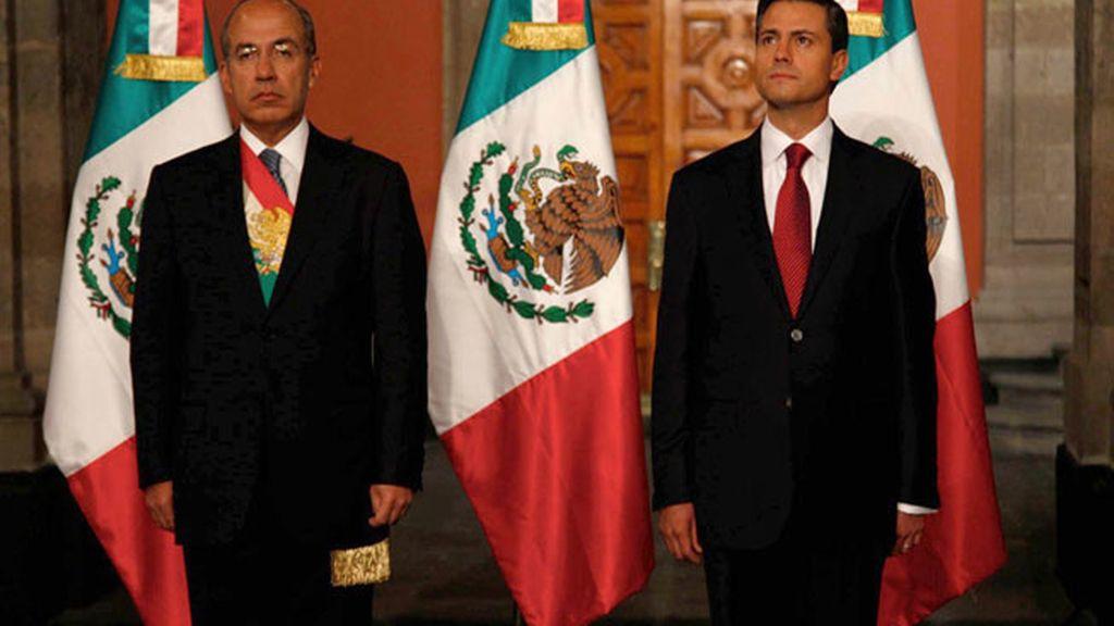 Enrique Peña Nieto, investido presidente de México
