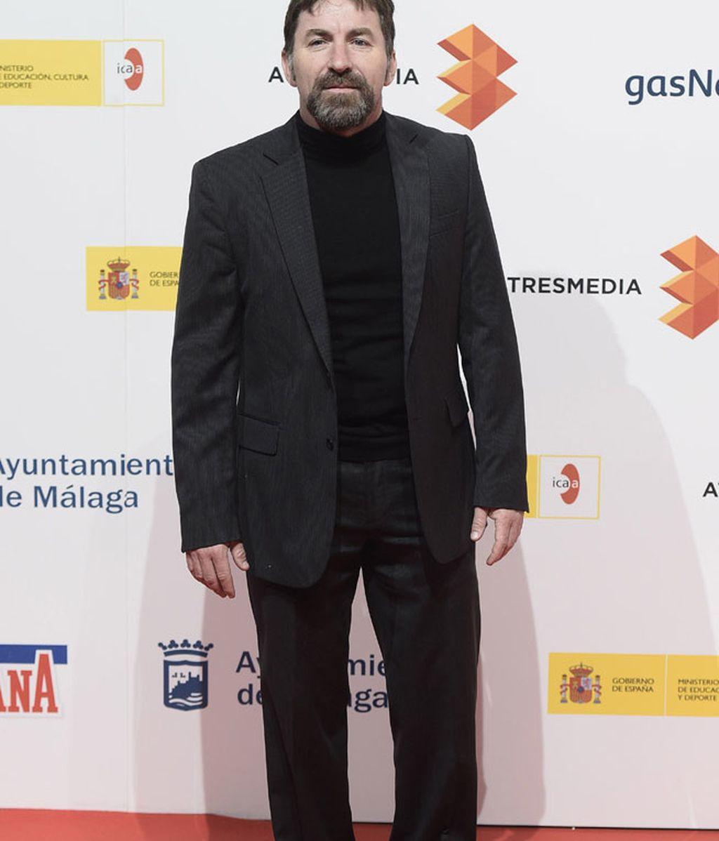El actor Antonio de la Torre no se perdió la presentación del Festival de Málaga