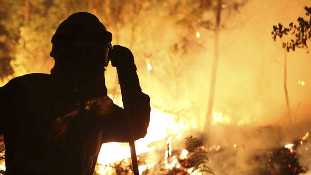 Incendio en Ponte Caldelas