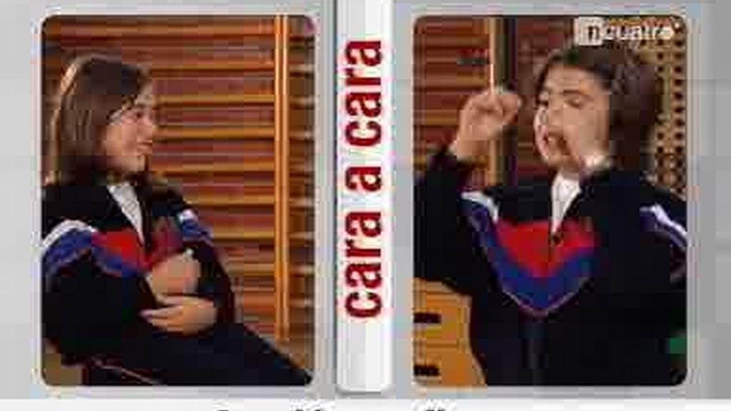 El cara a cara entre dos niñas divertidísimas: Casillas vs Torres