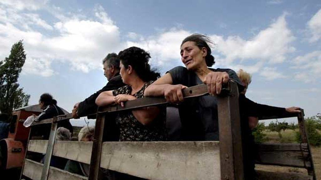 Huída de Osetia del Sur