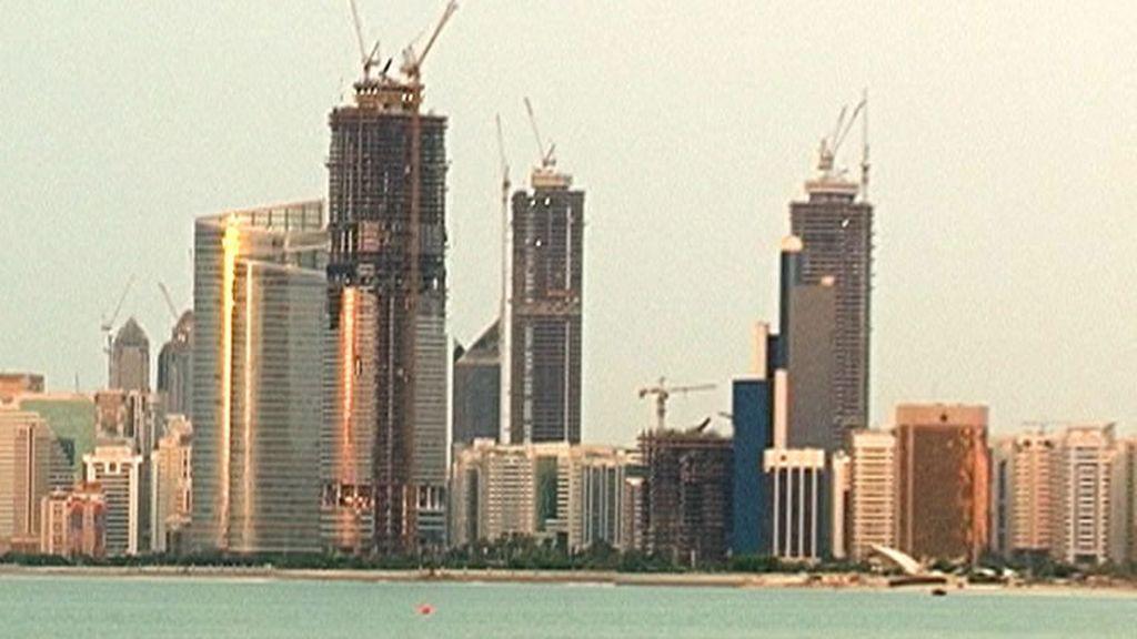Skyline en Abu Dhabi