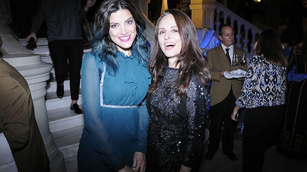 Jimena Mazucco y la diseñadora Ana Locking