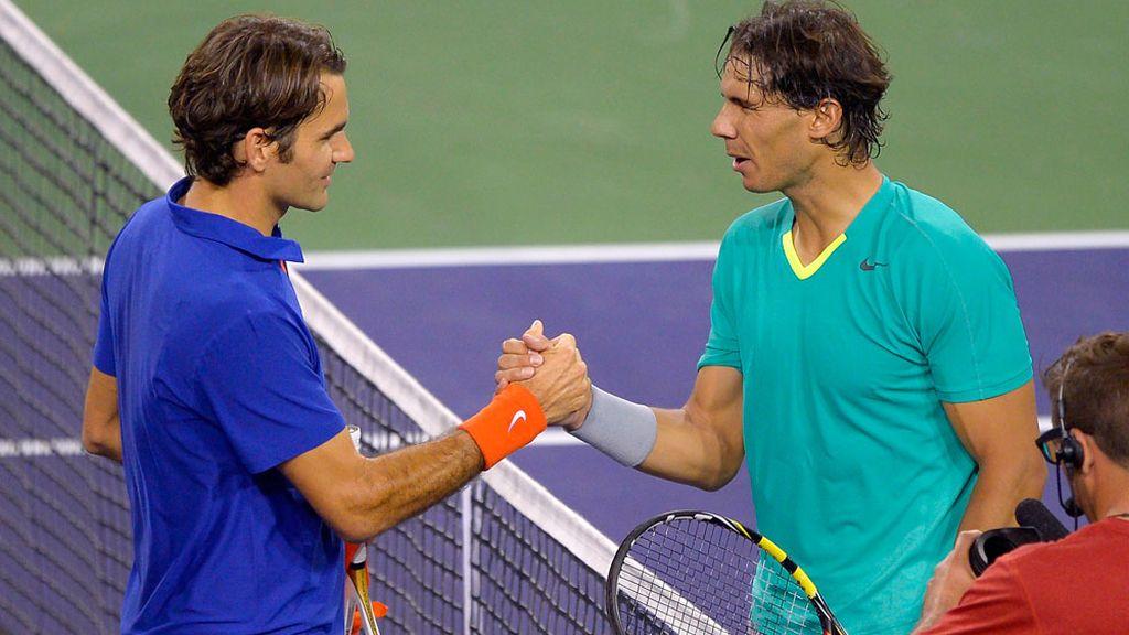 Nadal vence a Federer en el torneo de Indian Wells