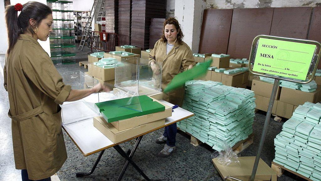 Urnas en las elecciones