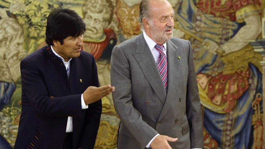 El Rey y Morales