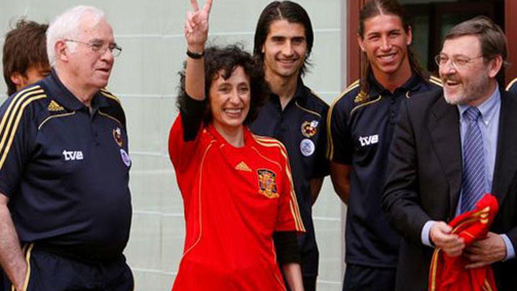 Mercedes Cabrera y la Selección