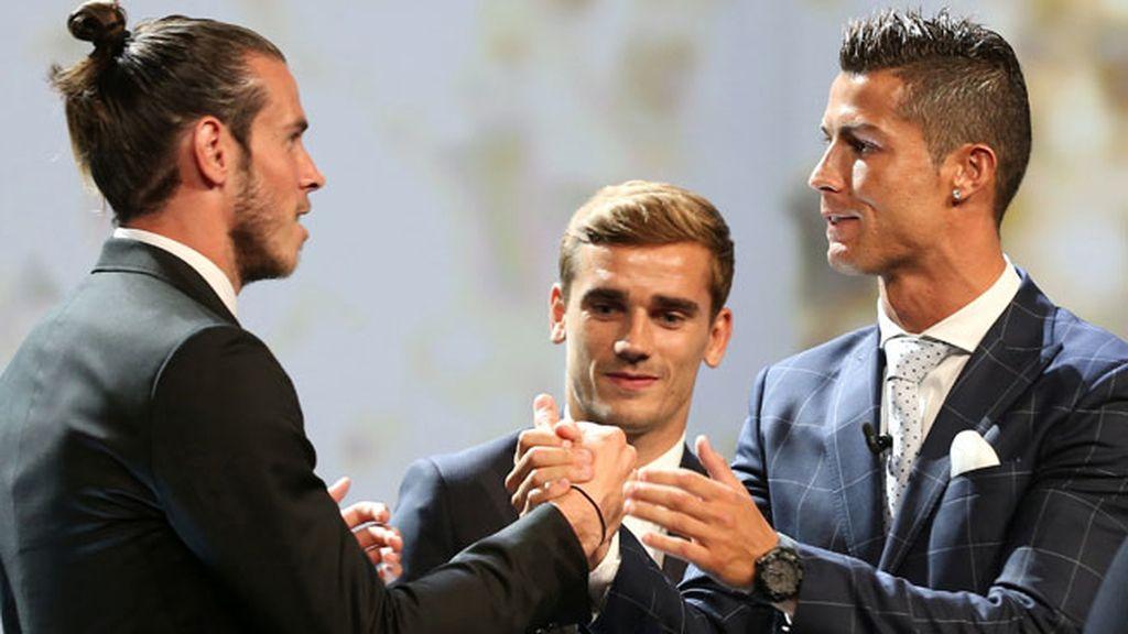 Cristiano, Bale, Griezmann