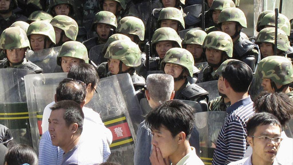 Enfrentamientos en Urumqi
