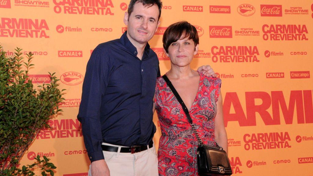 Luis Miguel Seguí y Antonia San Juan