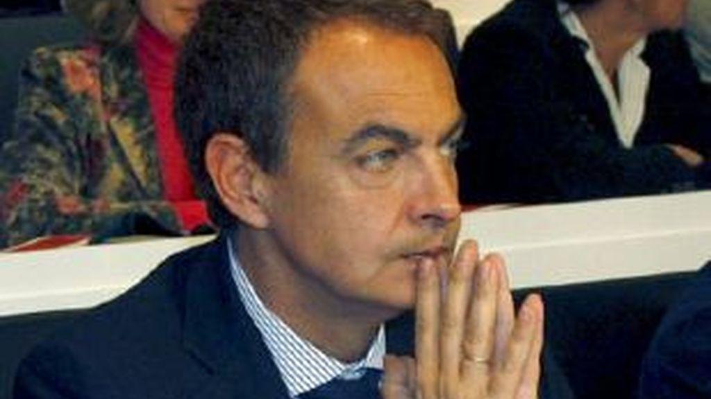Imagen del presidente del Gobierno, José Luis Rodríguez Zapatero. Foto: EFE