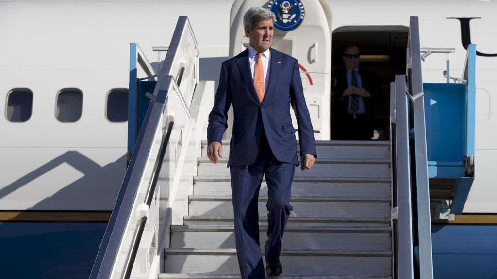 El secretario de Estado norteamericano, John Kerry, de visita en Israel y los territorios palestinos