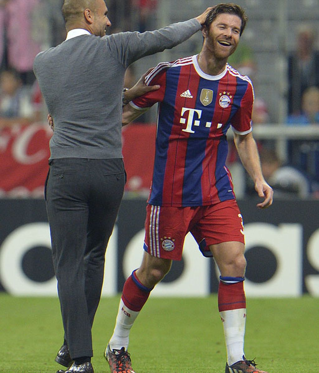 xabi alonso y guardiola