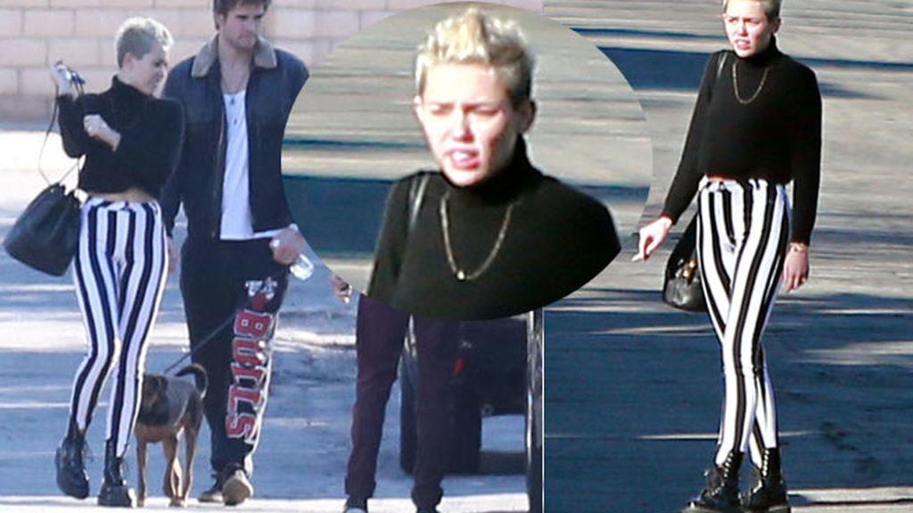 Miley Cyrus, insiste en su punto punk
