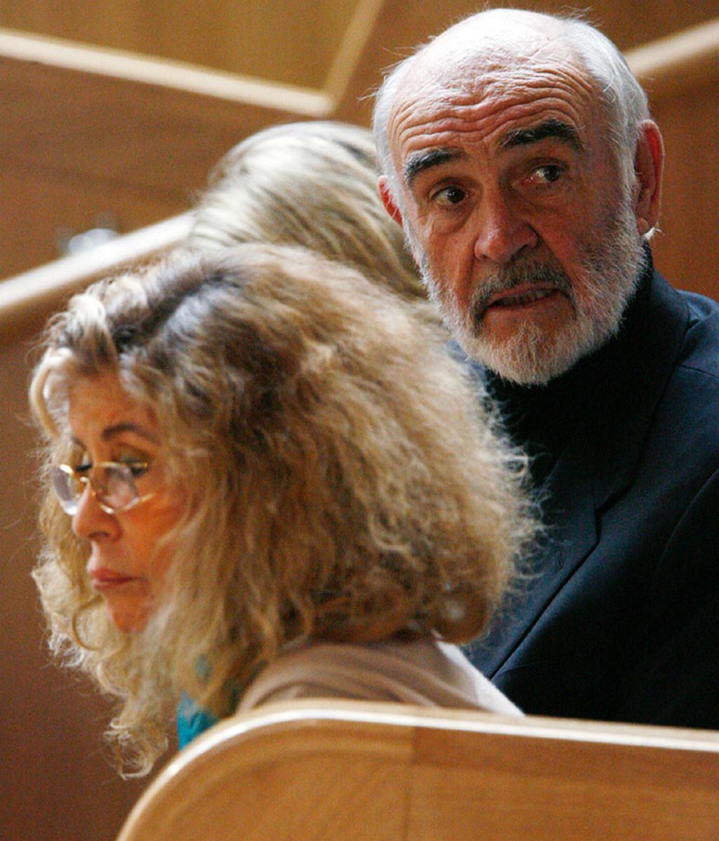Sean Connery y su mujer imputados por presunto blanqueo de dinero