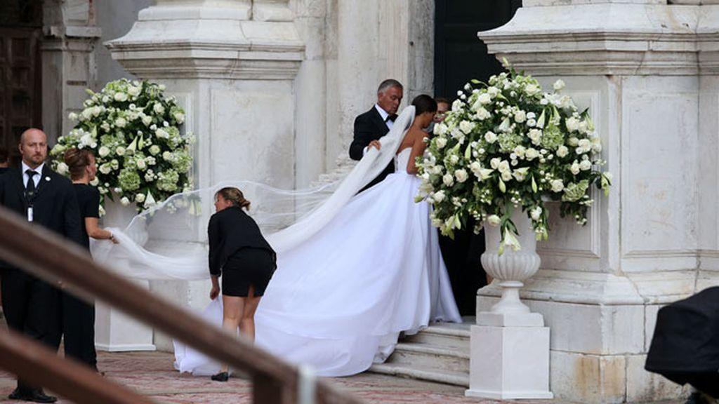 La tenista se ha casado entre canales, con el jugador alemán