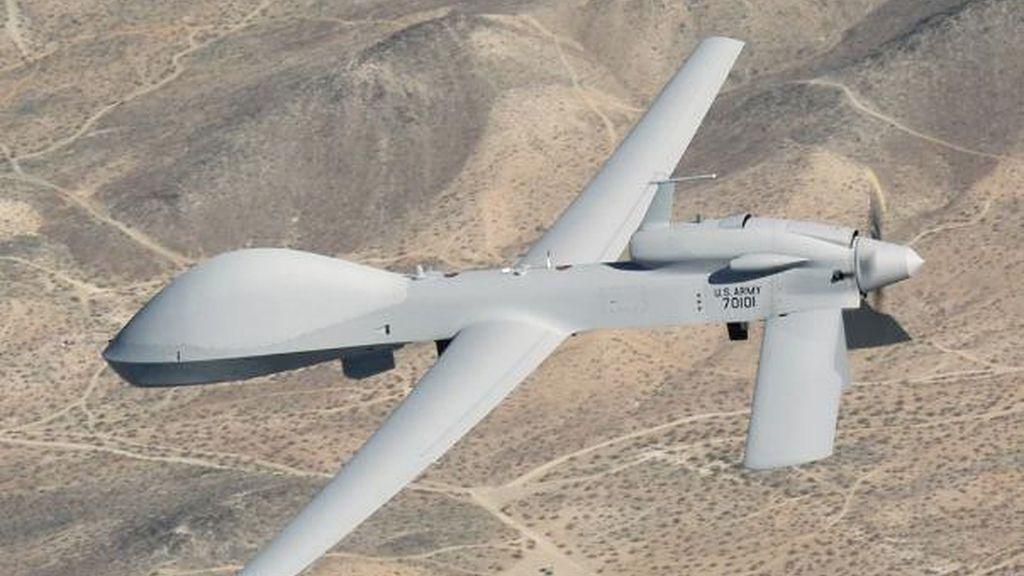 Imagen de archivo de un avión no tripulado estadounidense