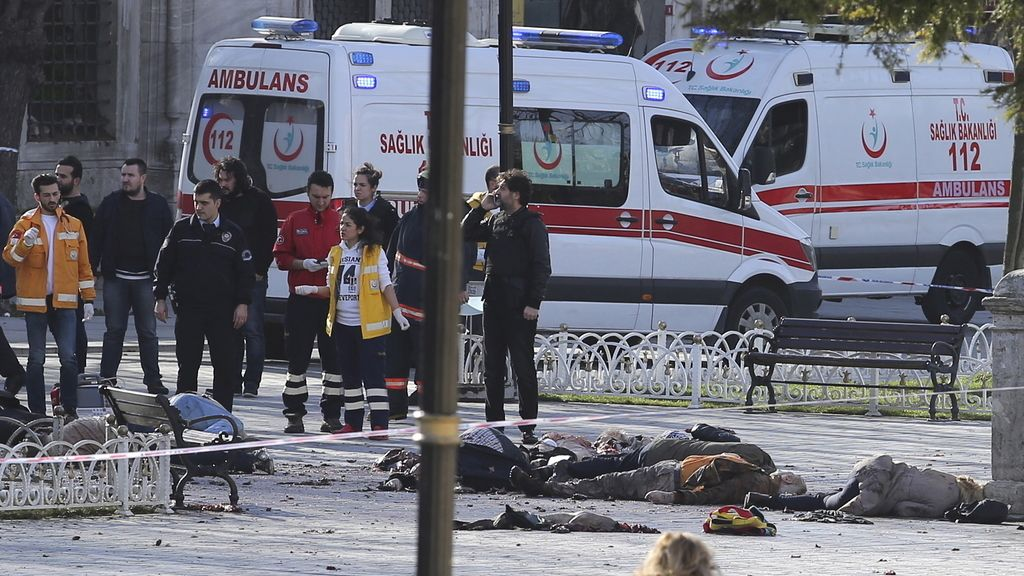 Varios muertos en una explosión en Estambul