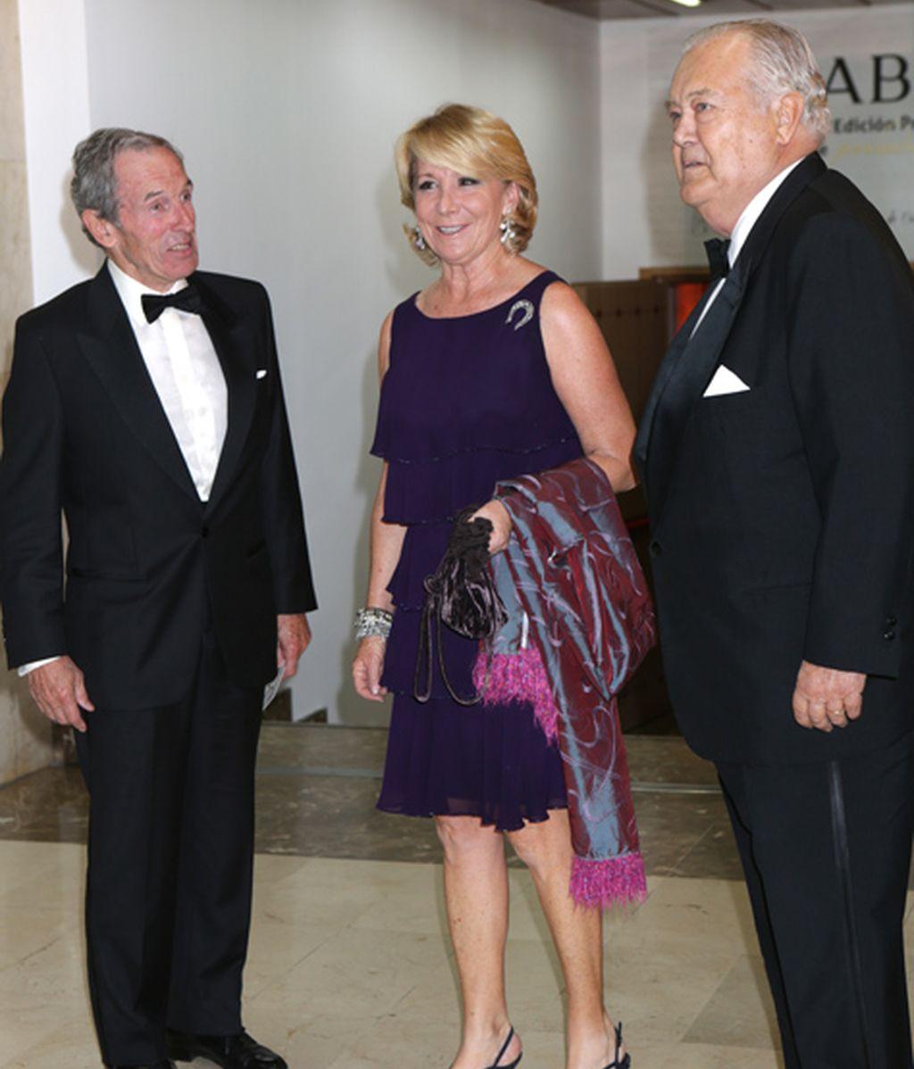 Esperanza Aguirre no se quiso perder el evento