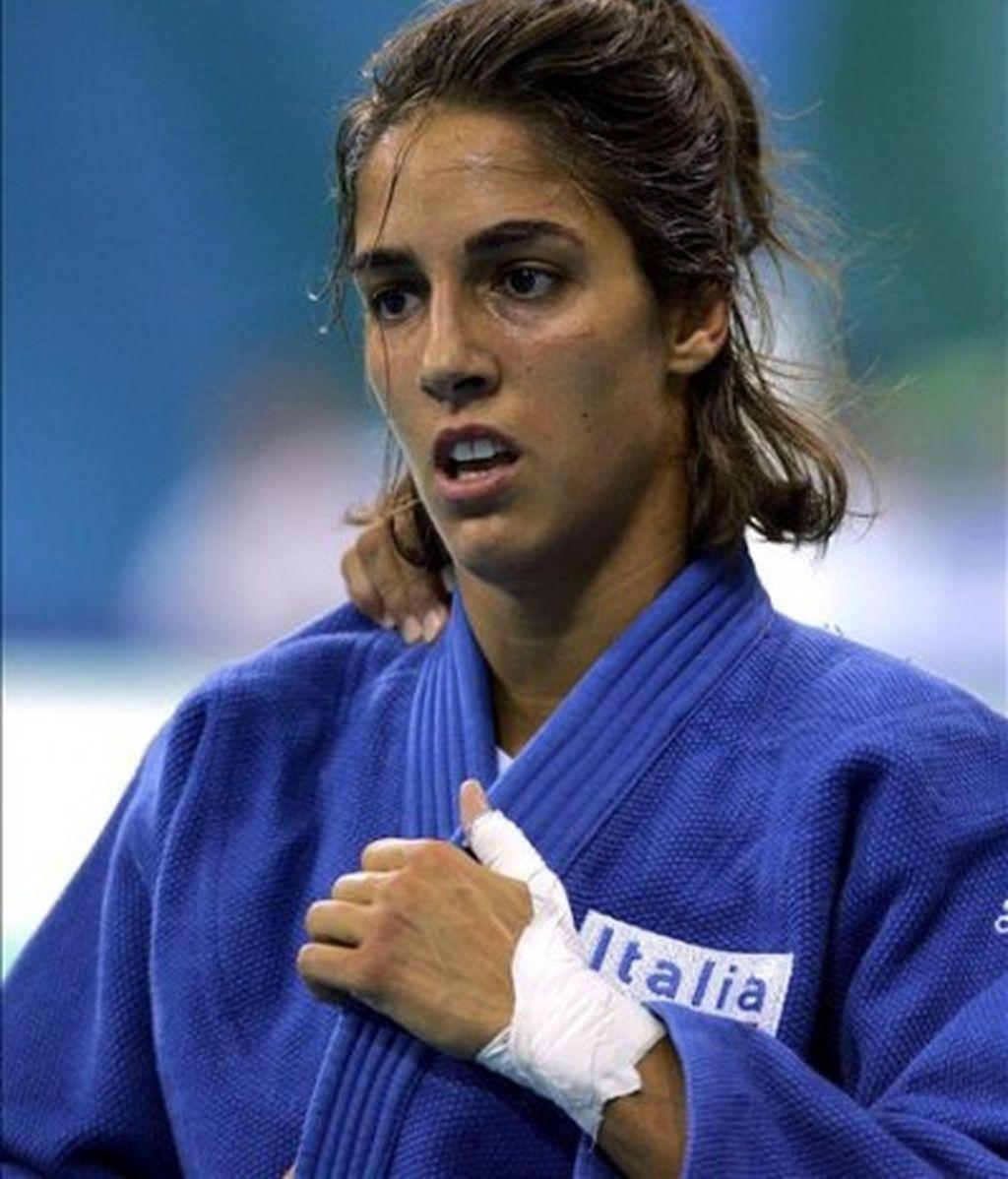 Quintavalle, campeona olímpica en Judo