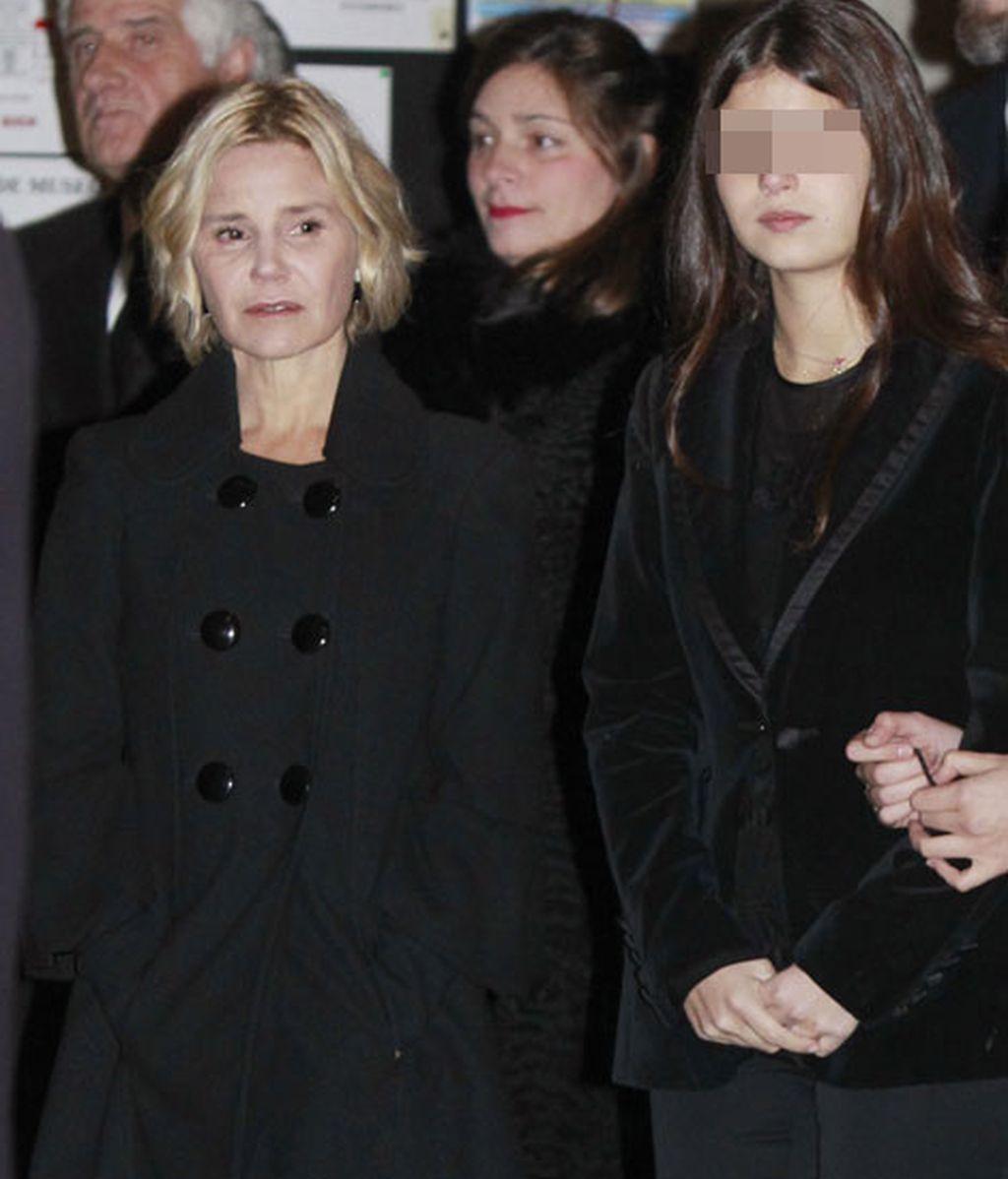 Tana junto a su madre Eugenia