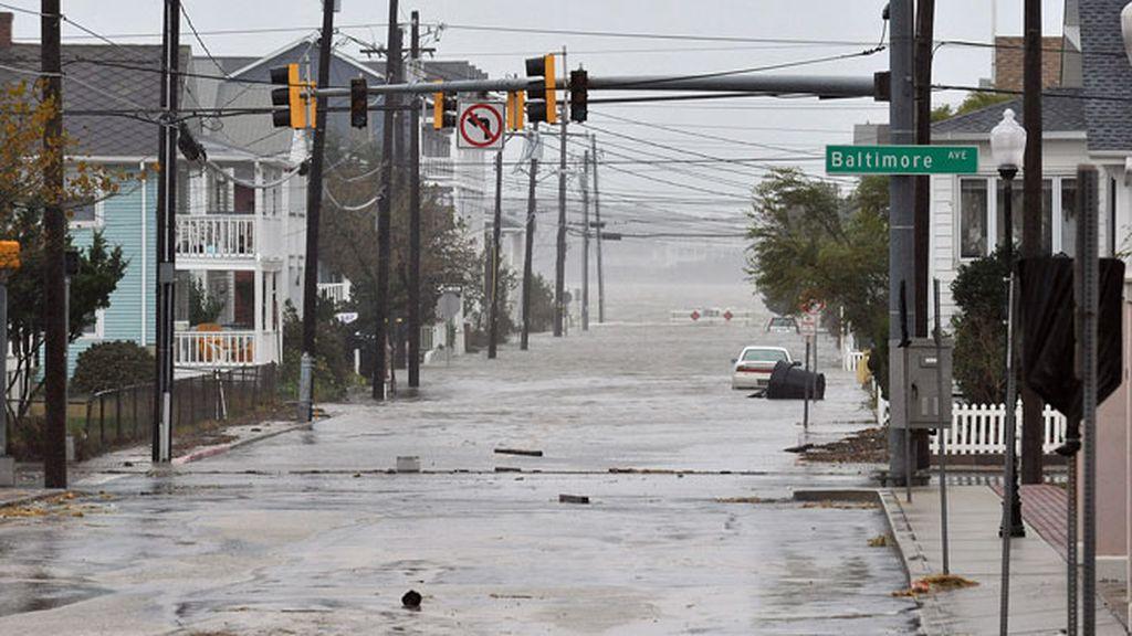 Ciudades anegadas por el agua