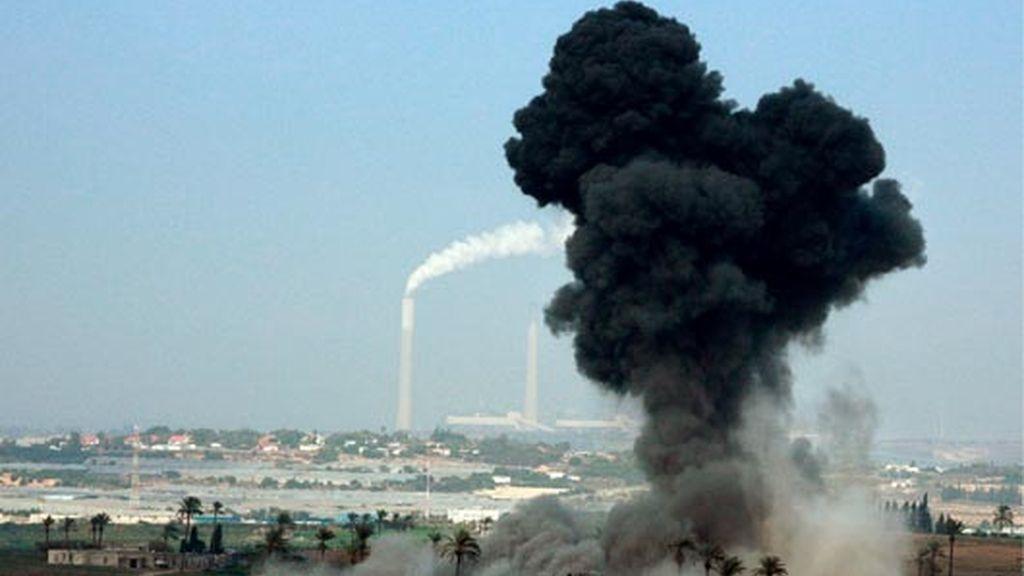 ataque a la franja de gaza