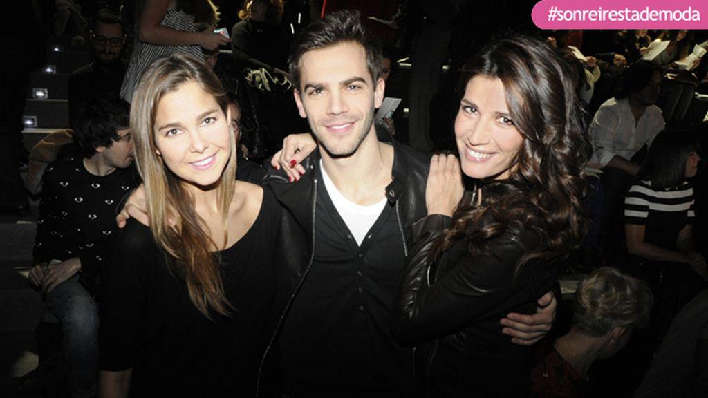 Natalia Sánchez, Marc Clotet y Elia Galera