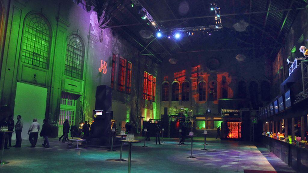 La antigua estación del Norte fue el espectacular escenario para la fiesta de J&B
